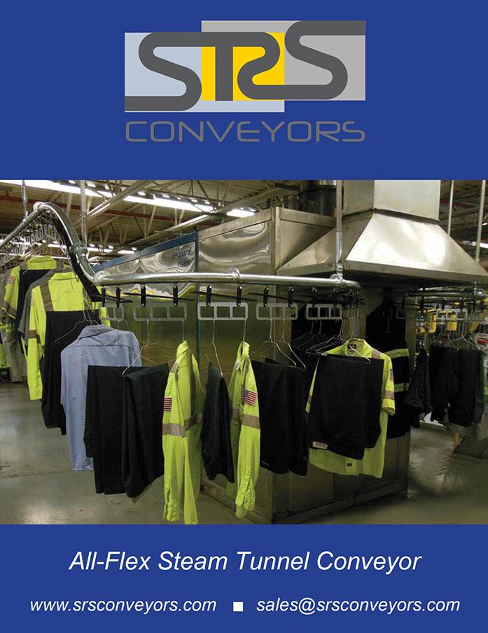 All-Flex Steam Tunnel Conveyor
